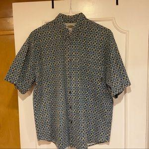 Men's Quicksilver Short Sleeve Button Down Shirt